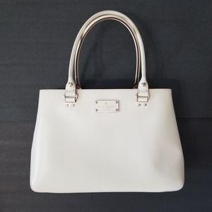 Kate Spade Ivory Wellesley Fallon XL Tote Bag